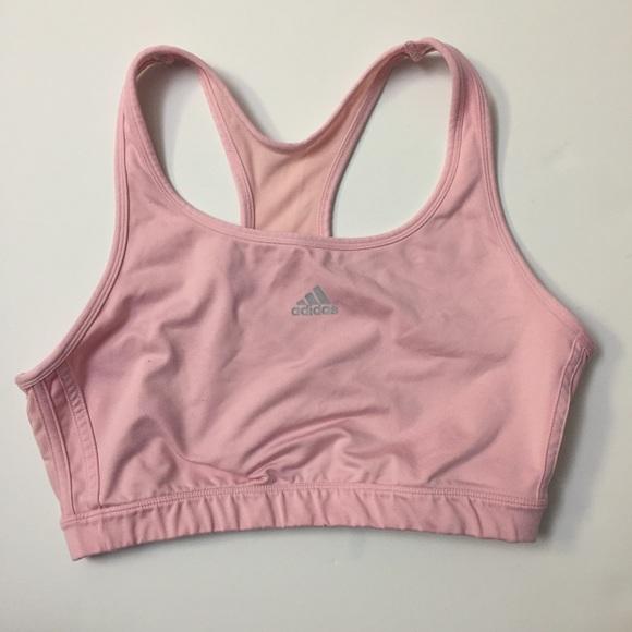 46b9185daf270 adidas Other - Adidas soft baby pink sports bra XL